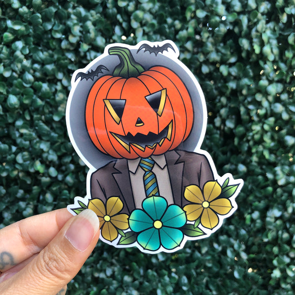 Pumpkin Dwight - Sticker