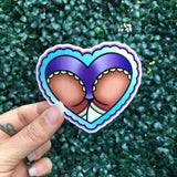 Heart Butt - Sticker