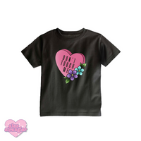 Don't Touch Me Candy Heart - Kids Tee