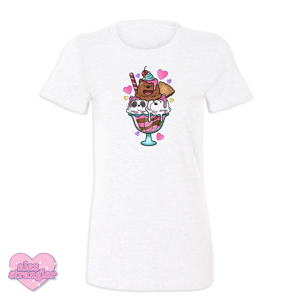 Bear Sundae - Women's Tee