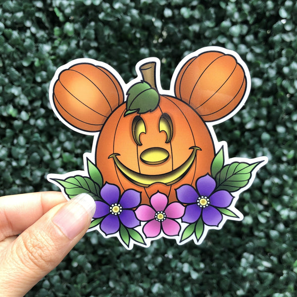 Main Street Pumpkin - Sticker