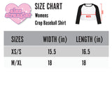 Princess Dudes - Women's Cropped Raglan