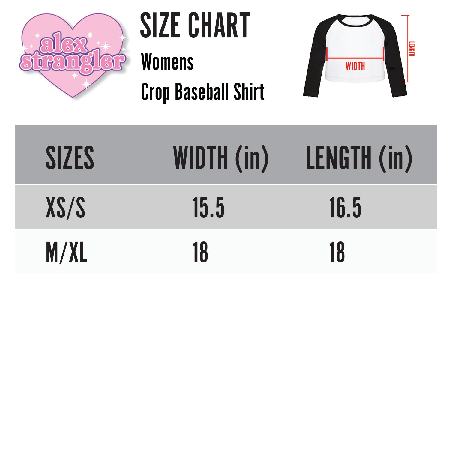 Park Louise - Women's Cropped Raglan