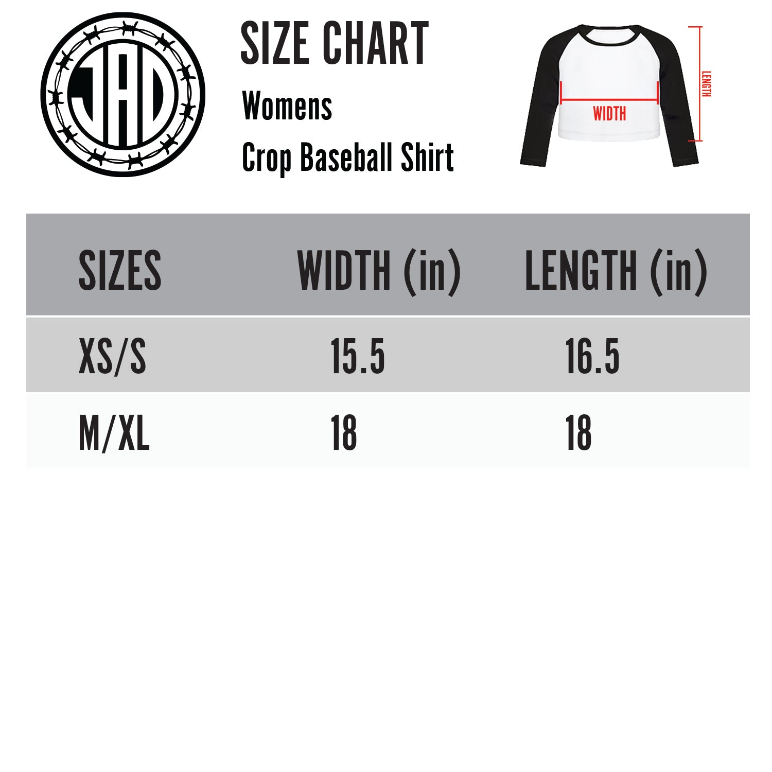 Nightmare Sally - Women's Cropped Raglan