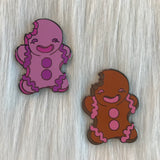 Gingerbread Man - Enamel Pin
