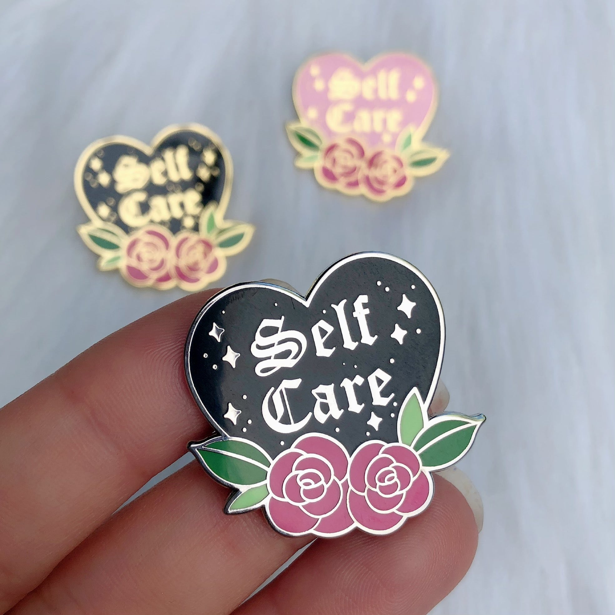 Self Care - Enamel Pin
