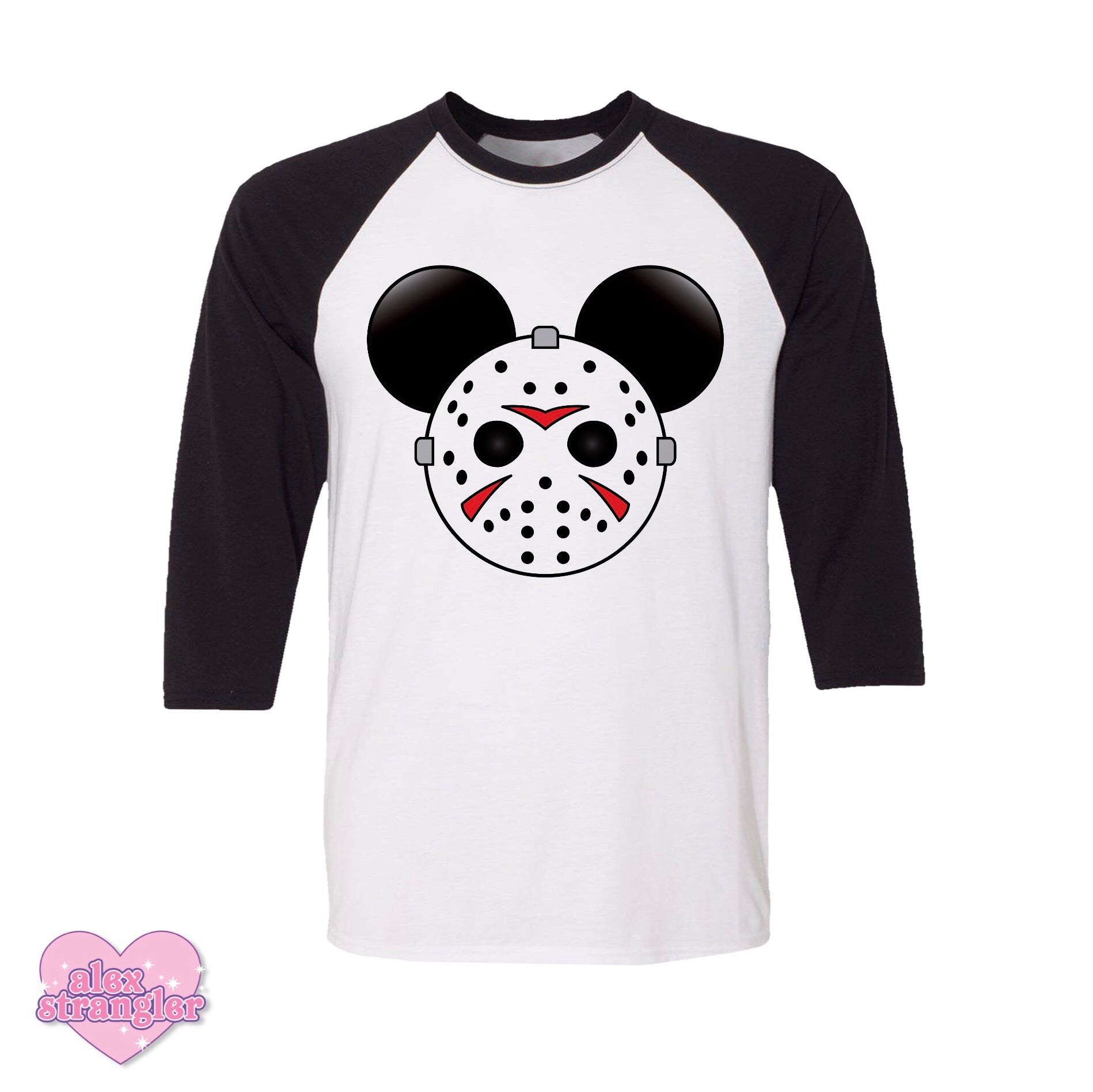Mr. Murder Mouse - Men's/Unisex Raglan