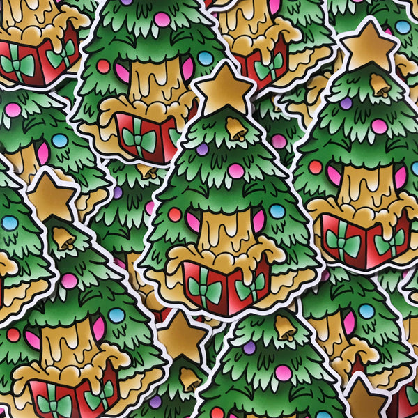 Barfmas Tree - Sticker