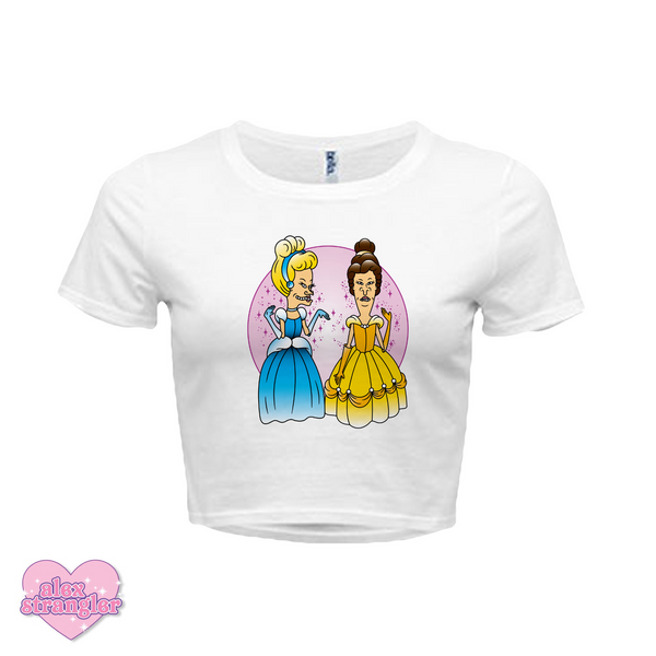 Princess Dudes - Women's Crop Top