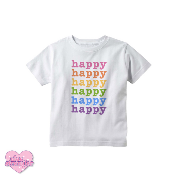 Happy - Kids Tee