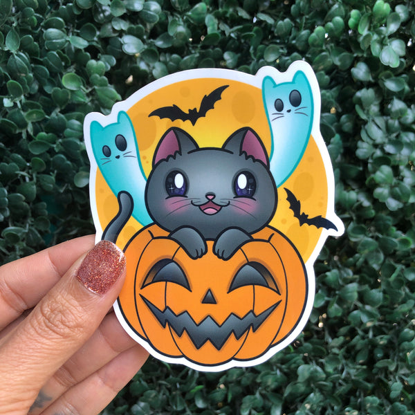Spoopy Kitty - Sticker