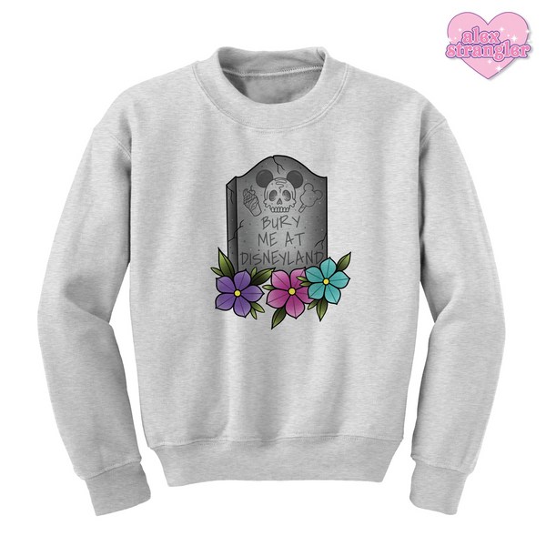 Bury Me At The Park - Unisex Crewneck Sweatshirt