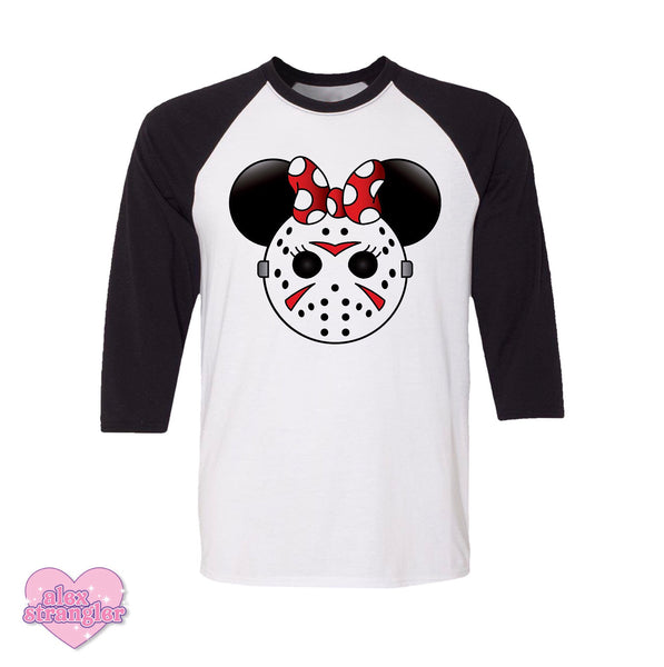 Mrs. Murder Mouse - Men's/Unisex Raglan