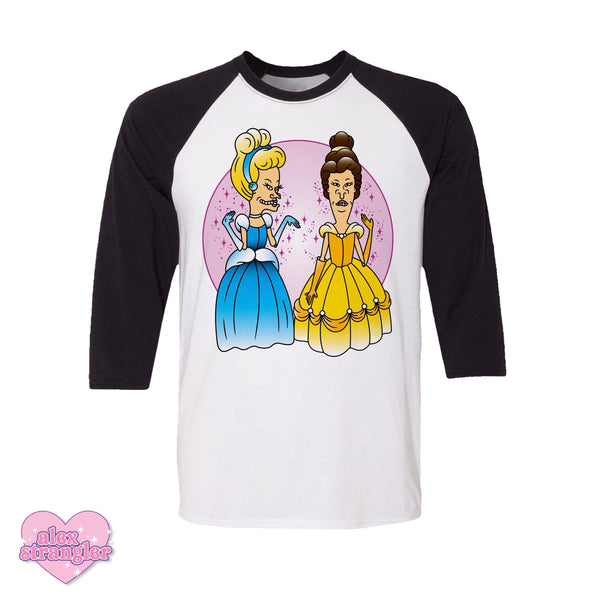Princess Dudes - Men's/Unisex Raglan