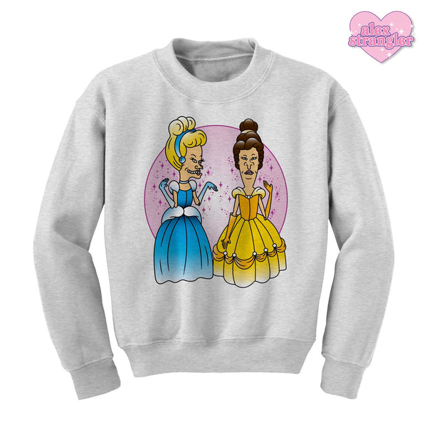 Princess Beavis & Butt-Head - Unisex Crewneck Sweatshirt