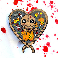 Always Check Your Candy - Enamel Pin