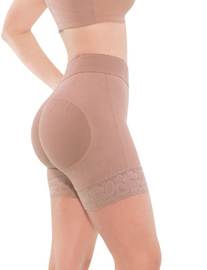 Mid Waist Powernet Butt Lift Short NS001