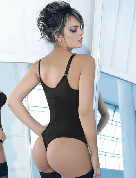 Thong Tummy Control Bodysuit ns012 | XS - 3XL