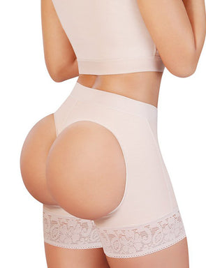 High Waist Booty Booster Butt Lifter Panty S-2XL | 8043