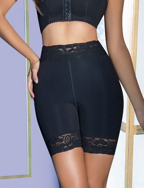 Extreme High Waist Maximum Control Powernet Buttlift Short 038