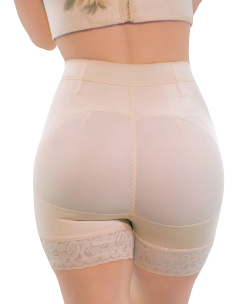 Mid Waist Natural Butt Lift Short NS002