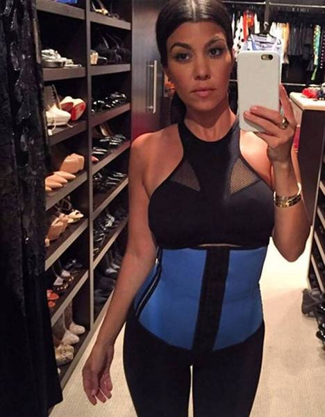 4c675a52a5 Kourtney Kardashian Waist Trainer