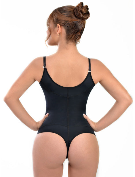 Invisible Tummy Control Thong Bodysuit 8052