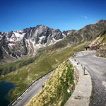 Venturing up Gavia Pass with Tired Legs