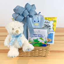 Baby Treasure Chest Gift Basket
