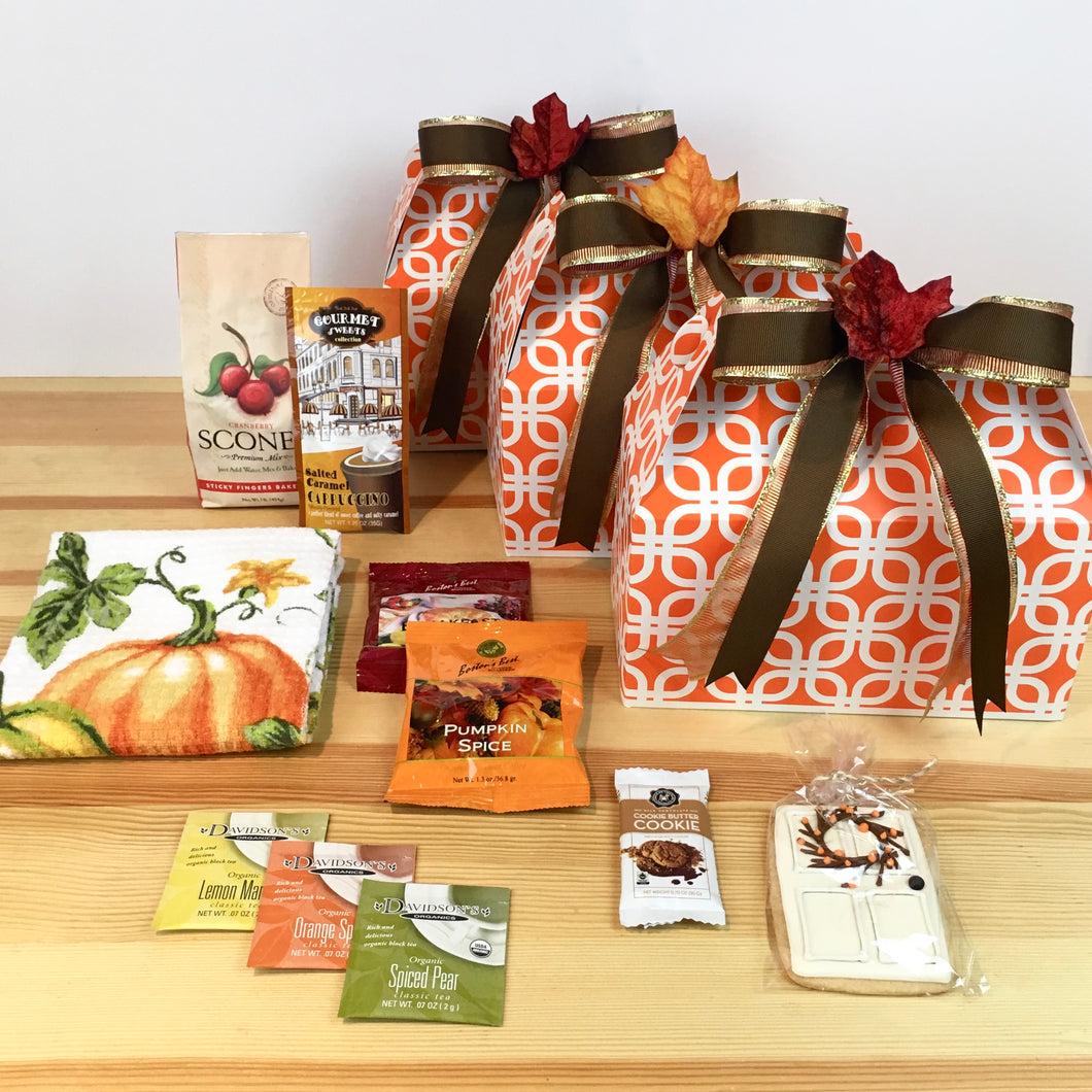 Fall Themed Gift Box