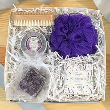 Lavender Relief Box