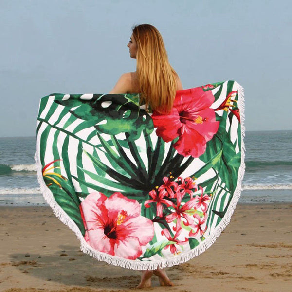 Round Summer Beach Mat