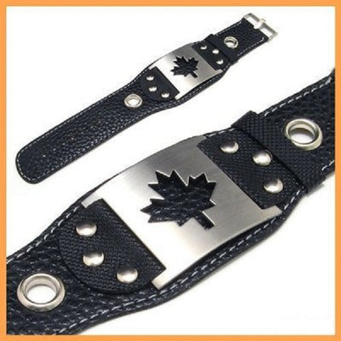 Stainless Steel Canadian Bracelet