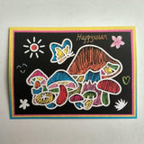 2-in-1 Magic Scratch Art Coloring Cards (20 pcs)
