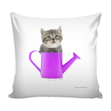 Cute Playful Kitty Pillow Covers