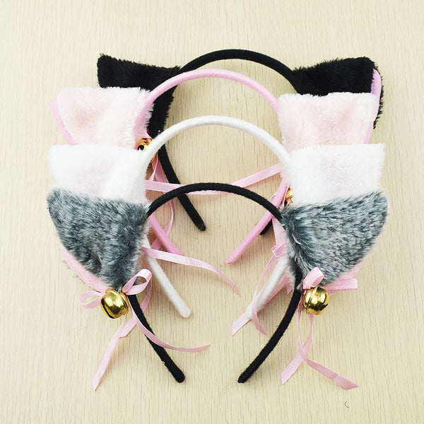 Cat-Ear Headband with Bells