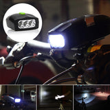 3-in-1 Bicycle LED Flashlight