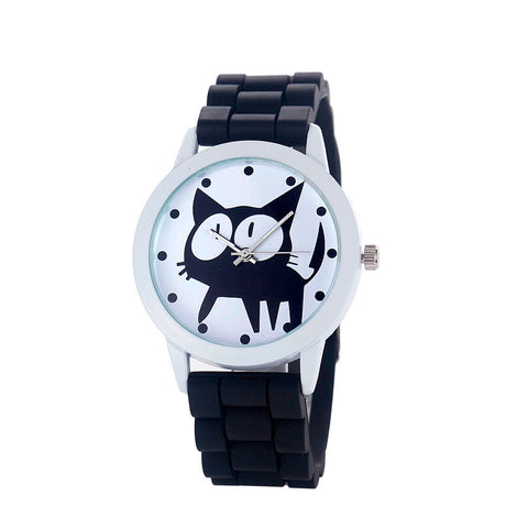 Cartoon Cat Wristwatch