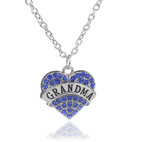 Family Crystal Necklace of Love Giveaway