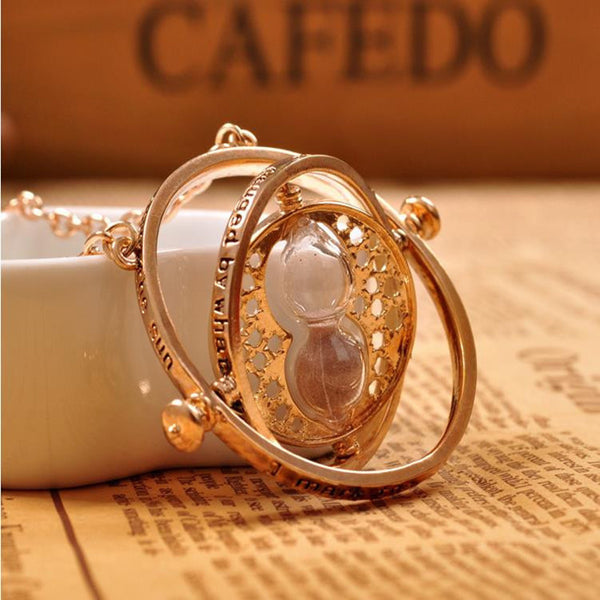 Time Turner Hourglass Necklace Giveaway