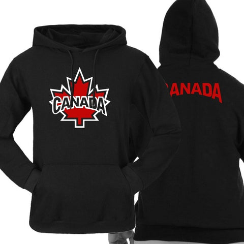 CoolMind Canada Autumn Leaf Hoodies