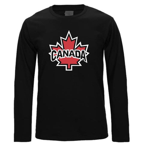 CoolMind Canada Autumn Leaf Long Sleeve Shirt