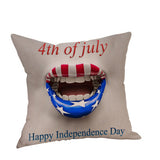4th July Independence Day Pillow Cover