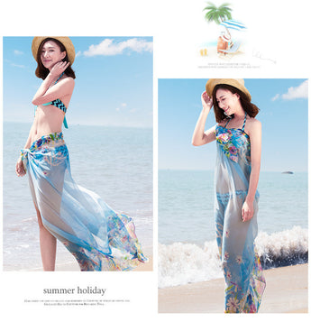 Summer Chiffon Beach Wrap