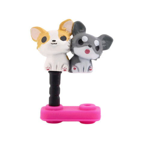 Cute Puppy Dust Plug