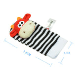 Baby Wear-On Animal Rattle Set