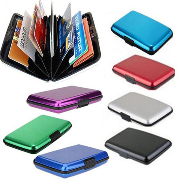 Anti-RFID Credit Card Holder Giveaway (Aluminum)