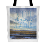 Inspiring Travel Quotes Tote Bag