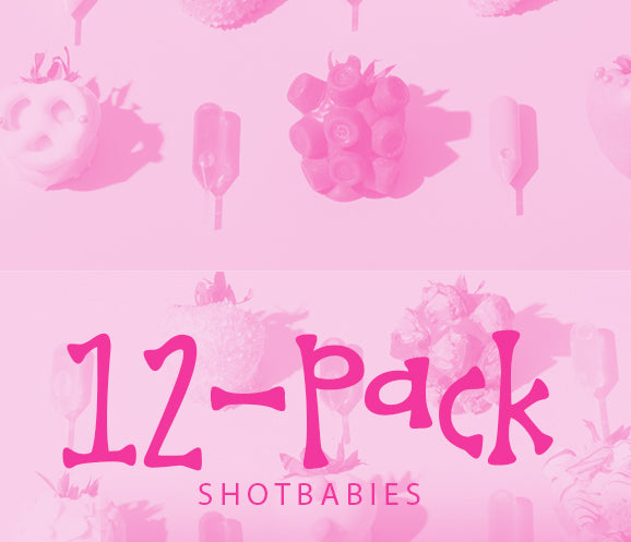 12-Pack Shotbabies