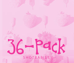 36-Pack Shotbabies